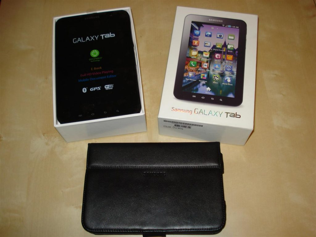 Tablet and case