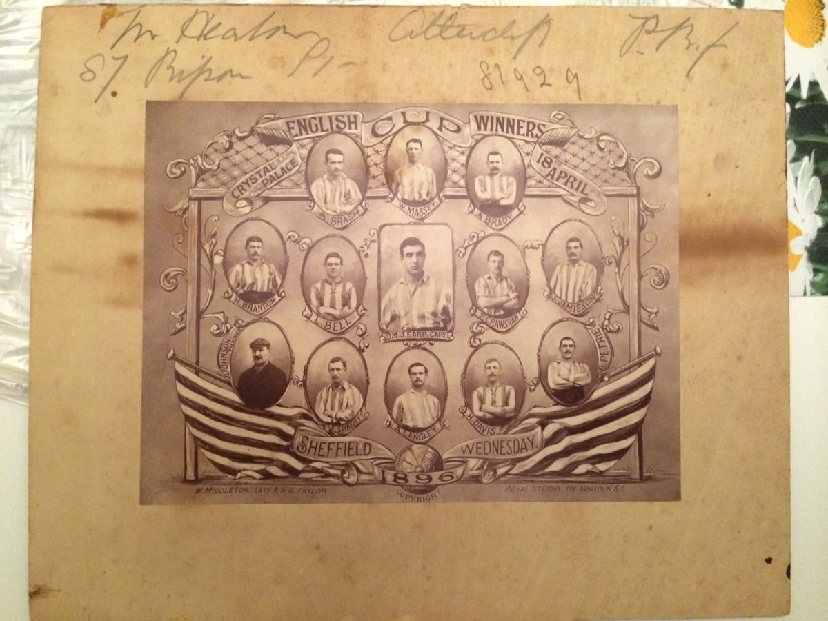 Sheffield Wednesday 1896 picture – help request!