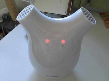 Dehumidifier In Action